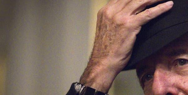 Leonard Cohen, en 2012. - Joël Saget - AFP