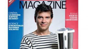 """La """"une"""" du Parisien Magazine du 19 octobre 2012 avec Arnaud Montebourg en marinière"""