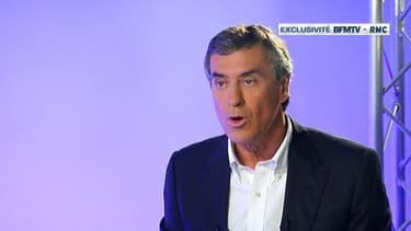 Jérôme Cahuzac sur BFMTV en interview exclusive le 16 avril 2013.
