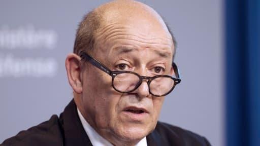 Le ministre des Affaires étrangères, Jean-Yves Le Drian
