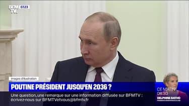 Les Russes votent largement un référendum permettant à Poutine de rester au pouvoir jusqu'en 2036