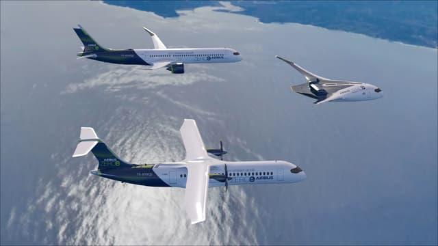 Les trois projets présentés par Airbus