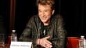 Paris, le 3 décembre 2011: Johnny tient une conférence de presse pour annoncer sa tournée 2012