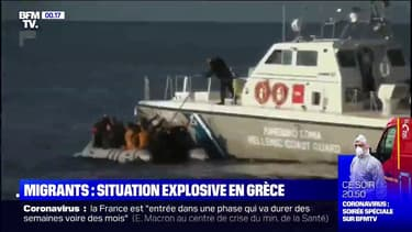 Migrants: situation explosive en Grèce