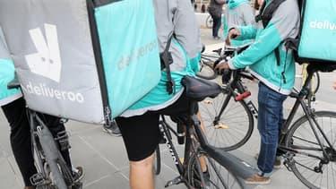 Deliveroo a débarqué en France il y a deux ans et affirme y compter près de 7.500 livreurs partenaires.