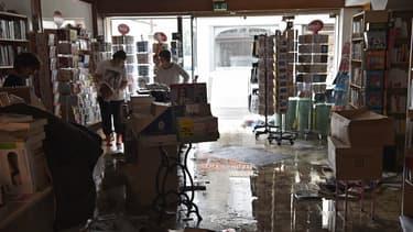 Dans une librairie de Montargis (Loiret) le 2 juin 2016.