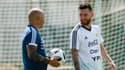 Jorge Sampaoli et Lionel Messi en sélection argentine