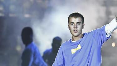 Justin Bieber en concert à l'AccorHôtels Arena de Paris, le 20 septembre 2016