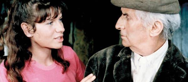 Christine Dejoux et Louis de Funès dans La Soupe aux choux