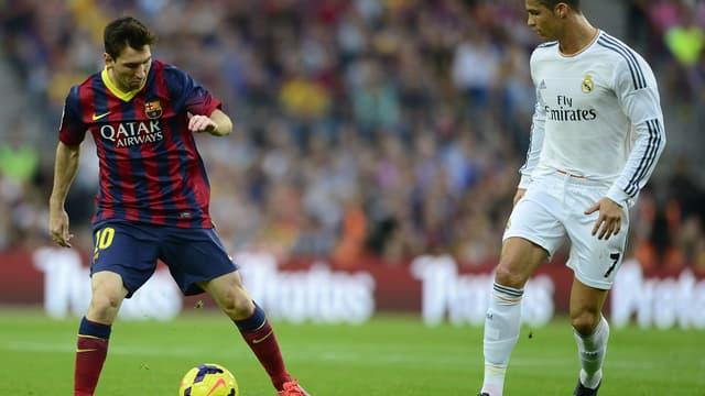 Leo Messi Cristiano Ronaldo en 2013