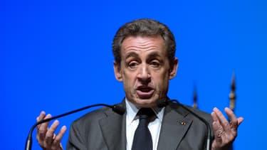 Nicolas Sarkozy le 5 mars 2015 à Marseille.