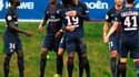La joie des joueurs du PSG face à West Bromwich Albion