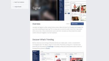 Facebook lance Signal.