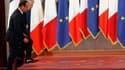 Lors d'une rencontre à Rome, François Hollande et Mario Monti ont invité mardi le prochain Conseil européen d'octobre à prendre des décisions nécessaires à un règlement durable de la crise de la zone euro incluant un resserrement des écarts de taux sur la