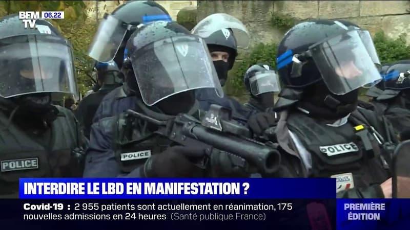 Maintien de l'ordre: l'interdiction du LBD en manifestation préconisé, sauf émeutes ou danger grave