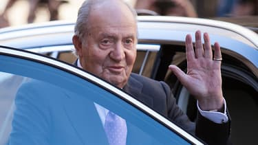 Juan Carlos Ier, le 1er avril 2018