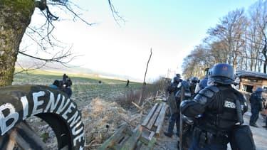 La gendarmerie nationale a évacué ce matin le site de Bure