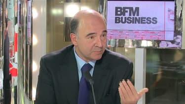 Pierre Moscovici s'est défendu contre les attaques dont il fait l'objet à propos de la réforme bancaire, ce jeudi 20 décembre sur BFM Business.