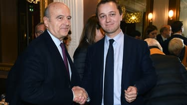 Alain Juppé et Maël de Calan