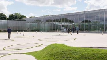 Le musée du Louvre-Lens.