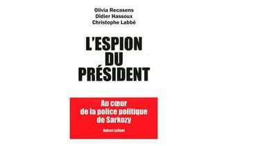"""Le livre """"l'espion du président"""""""