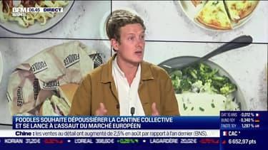 Michael Ormancey (Foodles) : Foodles souhaite dépoussiérer la cantine collective - 15/09