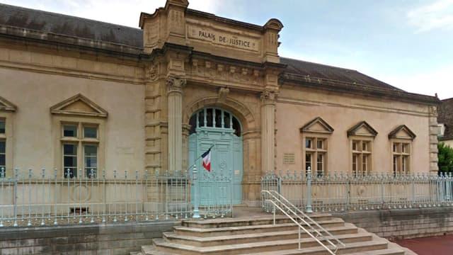 Le palais de justice de Nantua, dans l'Ain, où a été jugée l'affaire.