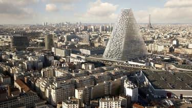 La tour Triangle sera érigée dans le 15ème arrondissement.