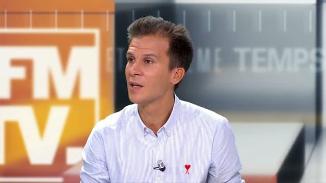 Gaspard Gantzer sur le plateau de BFMTV