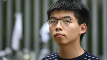 L'activiste pro-démocratie hongkongais Joshua Wong