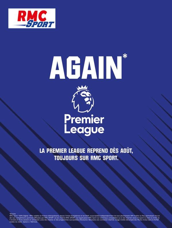 La Premier League sur RMC Sport