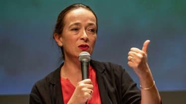 La présidente de France Télévisions, Delphine Ernotte, le 13 septembre 2019 à La Rochelle.