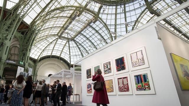 La Foire internationale d'art contemporain au Grand Palais à Paris