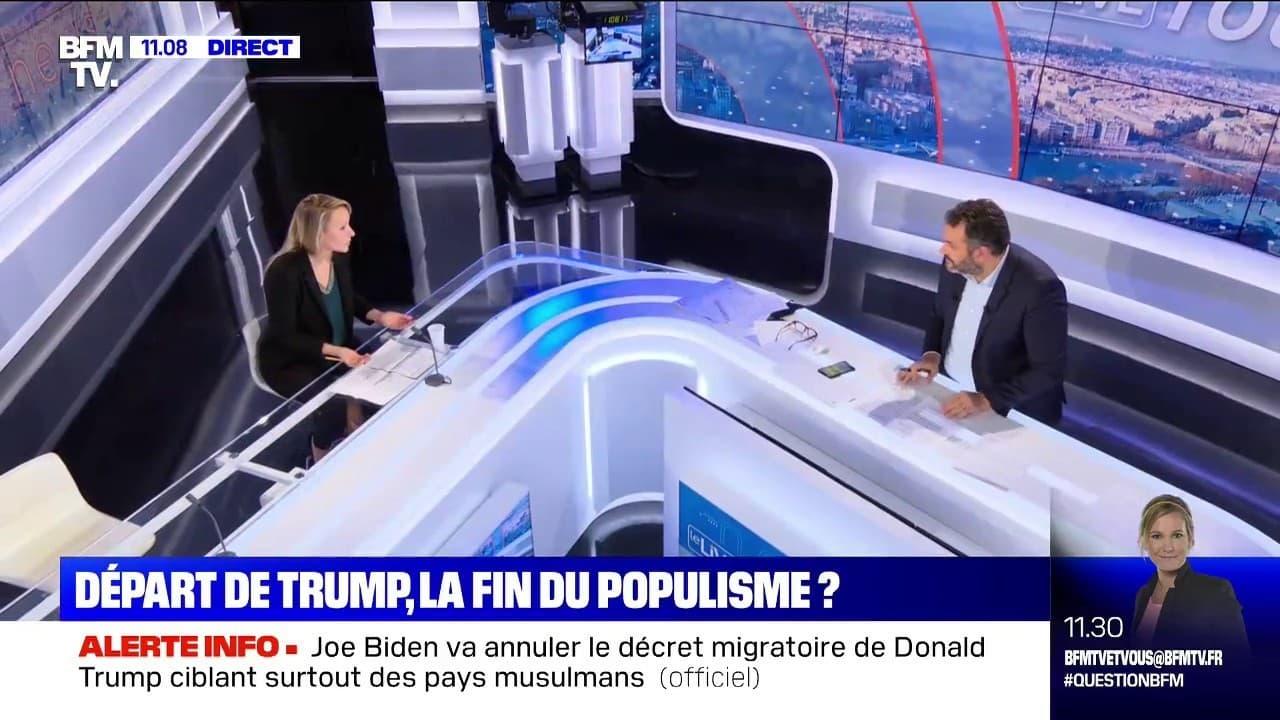 """Élection de Joe Biden: Marion Maréchal-Le Pen évoque des """"fraudes manifestes"""""""