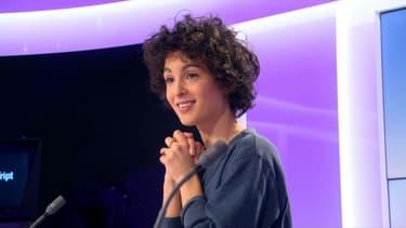 Barbara Pravi sur le plateau de BFMTV, le 1er février 2021