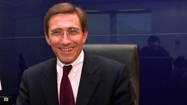 Martin Vial (ici en 2001) va succéder à Régis Turrini à la direction de l'Agence des Participations de l'Etat.