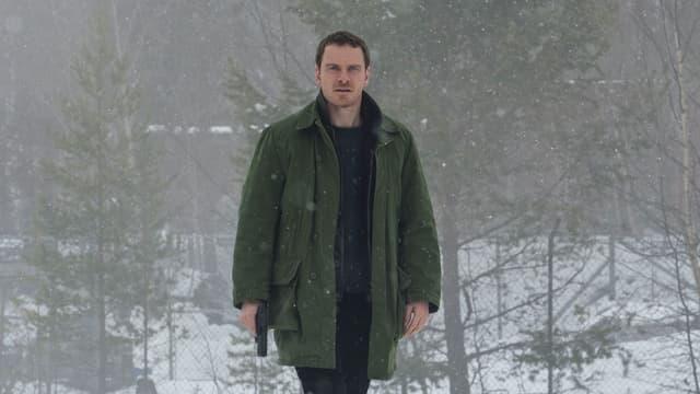 Michael Fassbender dans Le Bonhomme de neige