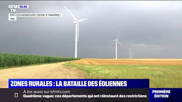 Anti-éoliennes: ils sont vent debout contre le développement du parc éolien dans leur commune