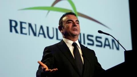Carlos Ghosn, le patron de l'alliance Renault-Nissan, peut se féliciter des ventes en 2013