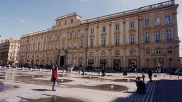 Le musée des Beaux-Arts de Lyon.