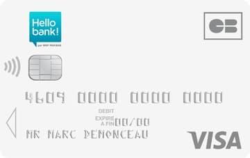 Carte Visa à 0€ sans engagement