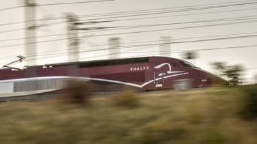 Un Thalys.