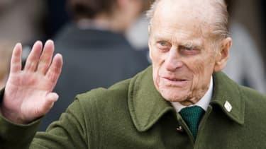 Le prince Philip en 2012