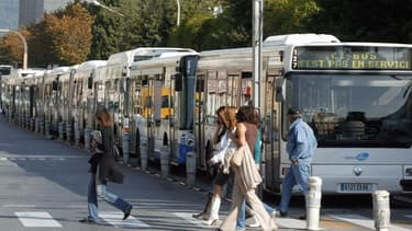 Aucun bus ne circulait à Nice
