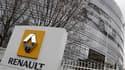 Le siège de Renault, à Boulogne-Billancourt, en région parisienne. Une enquête préliminaire de police a été ouverte vendredi sur l'espionnage industriel dont la firme au losange se dit victime de la part d'une puissance étrangère. /Photo prise le 11 janvi