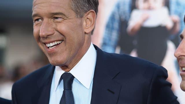 Brian Williams, journaliste vedette de NBC, a été suspendu 6 mois.