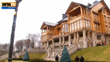 La demeure luxueuse de Viktor Ianoukovitch.
