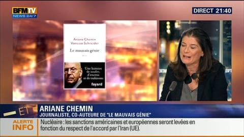 "Ariane Chemin: ""Patrick Buisson est l'autre face de Nicolas Sarkozy"""
