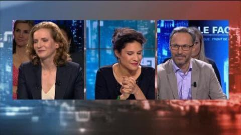 Nathalie Kosciusko-Morizet face à Iannis Roder dans BFM Politique