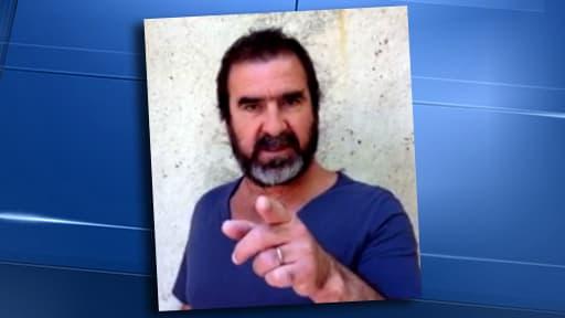 Dans une vidéo postée jeudi, Eric Cantona s'adresse au président François Hollande sur le conflit israélo-palestinien.